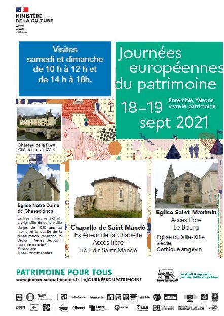 Read more about the article JOURNEES DU PATRIMOINE