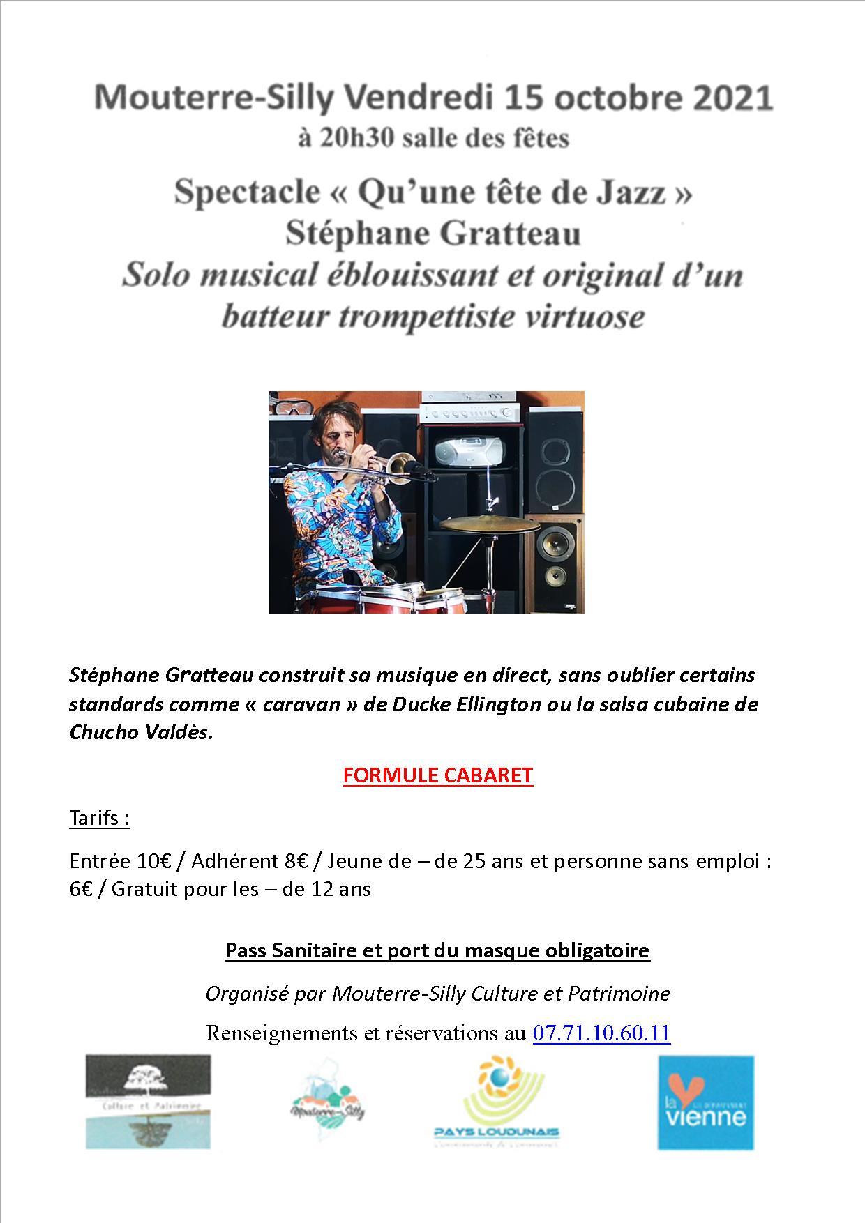 Read more about the article Spectacle «Qu'une tête de Jazz»